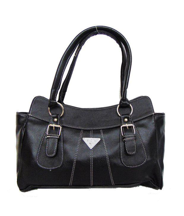 Estoss Black Shoulder Bag