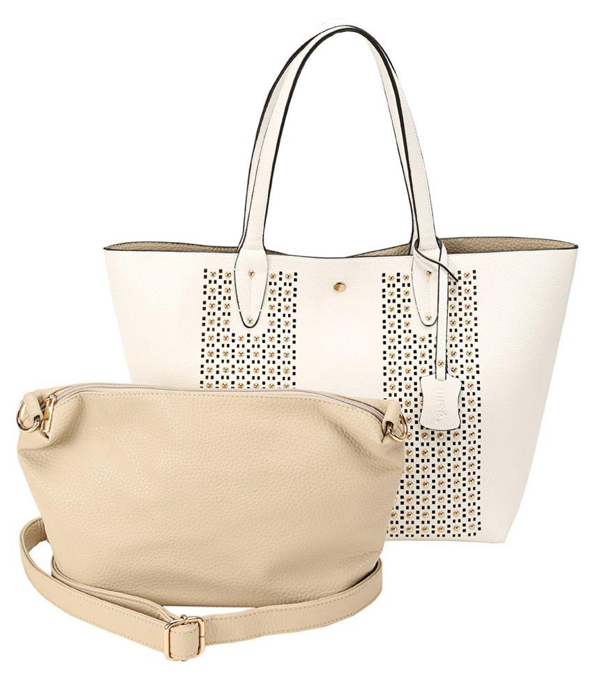 Mese White Tote Bag