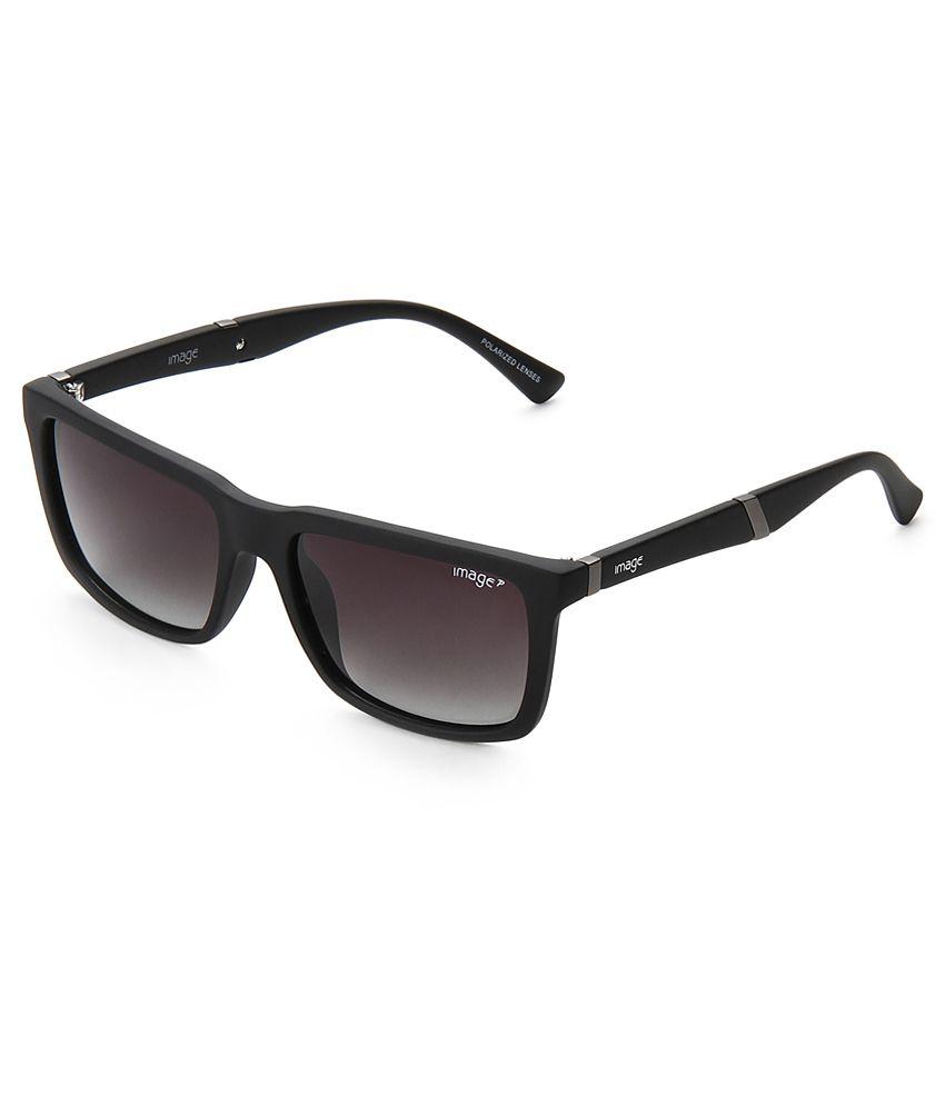 Image Black Square Sunglasses