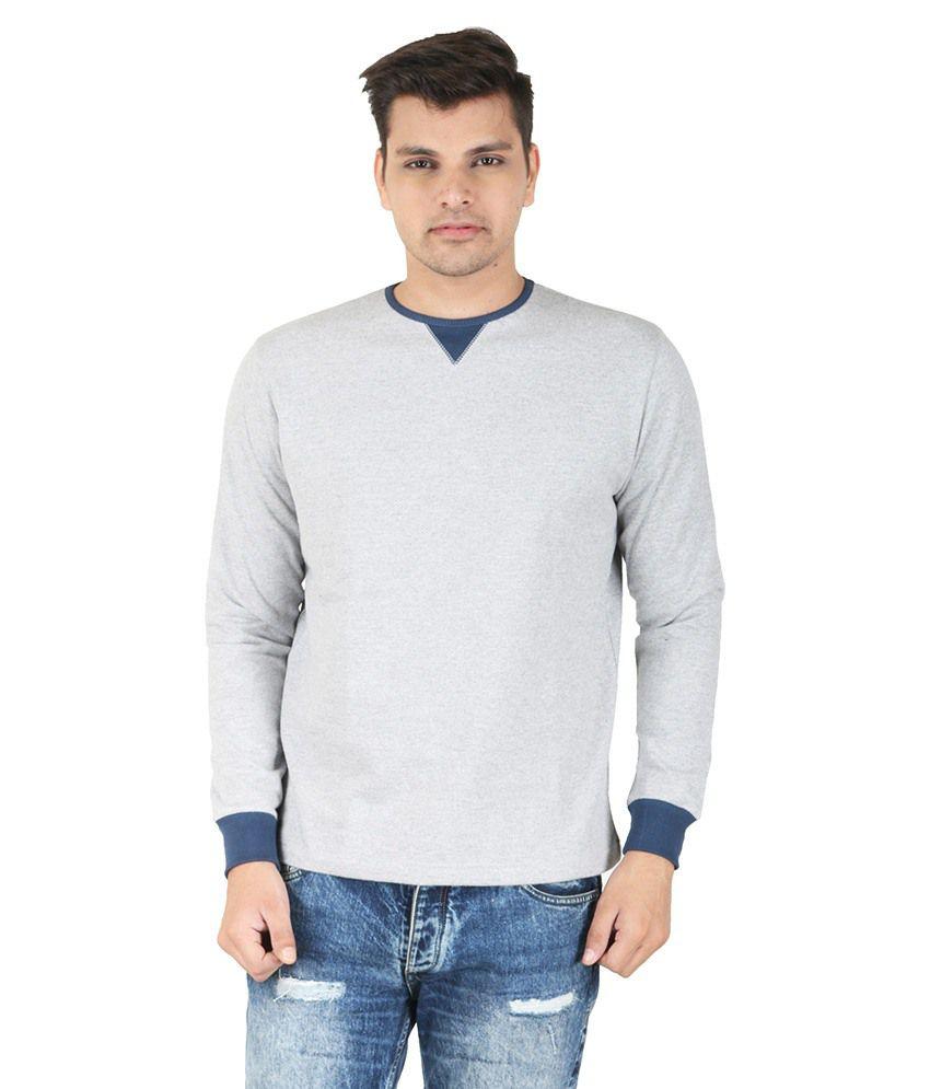Corrida Grey Cotton Blend T-Shirt