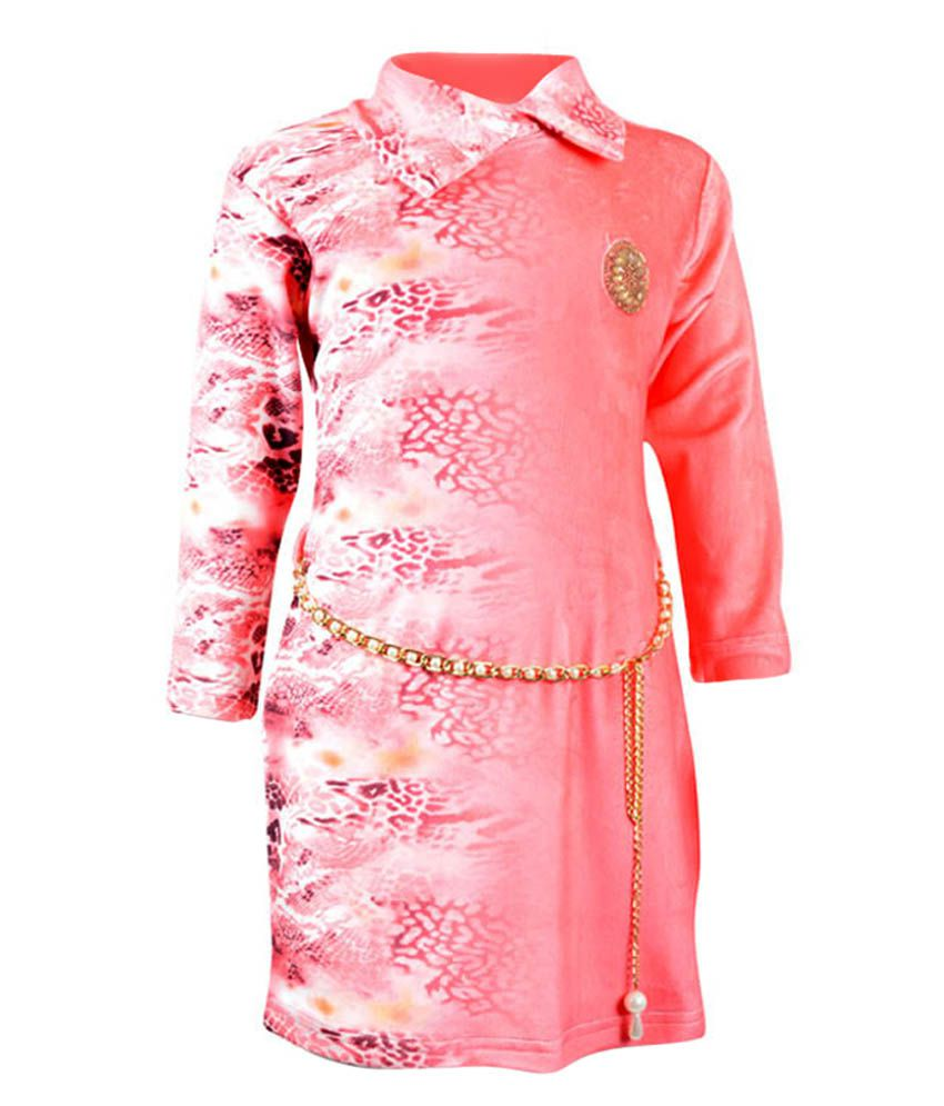 Akshadha Pink Sweatshirt For Girls