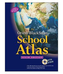 The Orient Blackswan School Atlas (With Cd-Rom) 6Th Edition