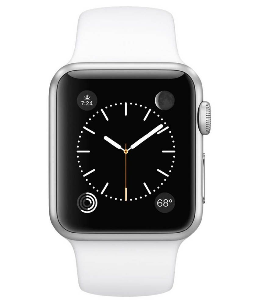 Apple White Sports Wear Smartwatch