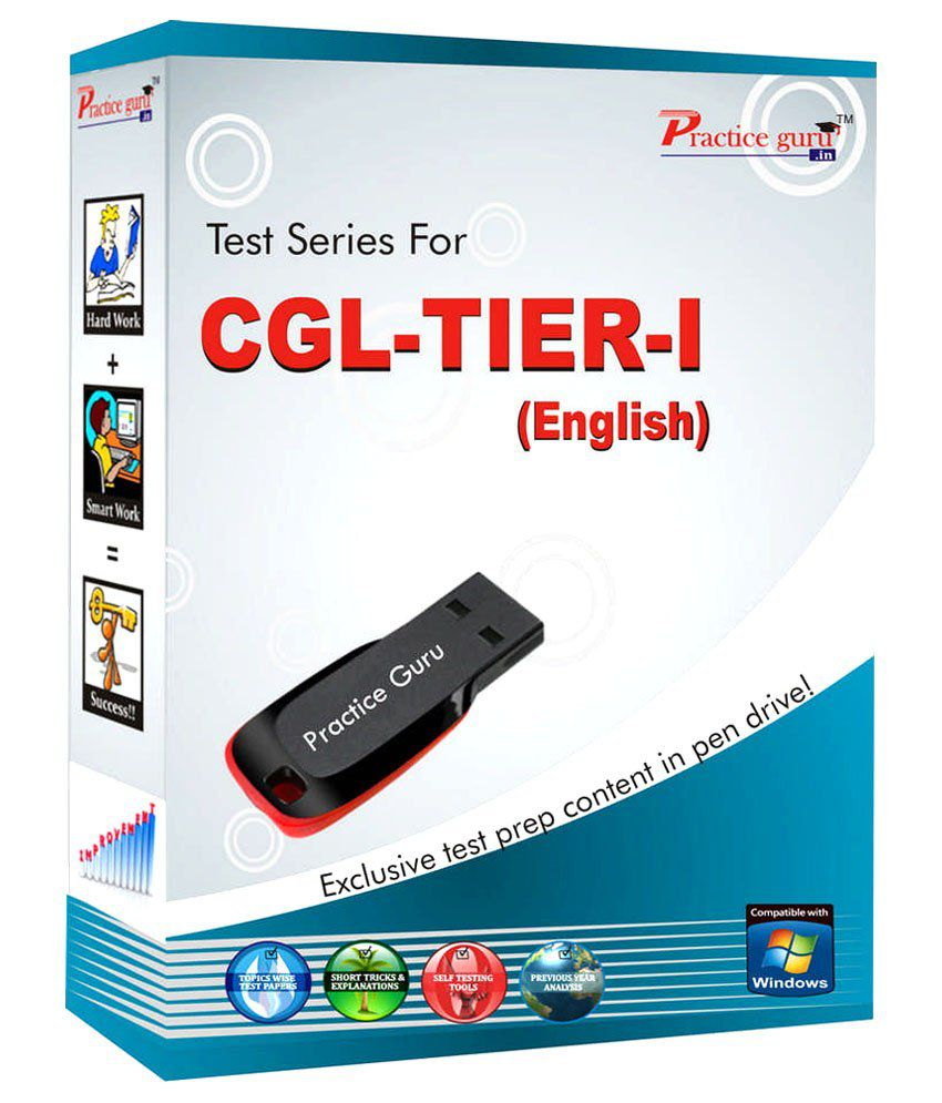 Topic Wise Practice Test Paper For CGL Tier I (English) for full practice and assured results! Pen Drive