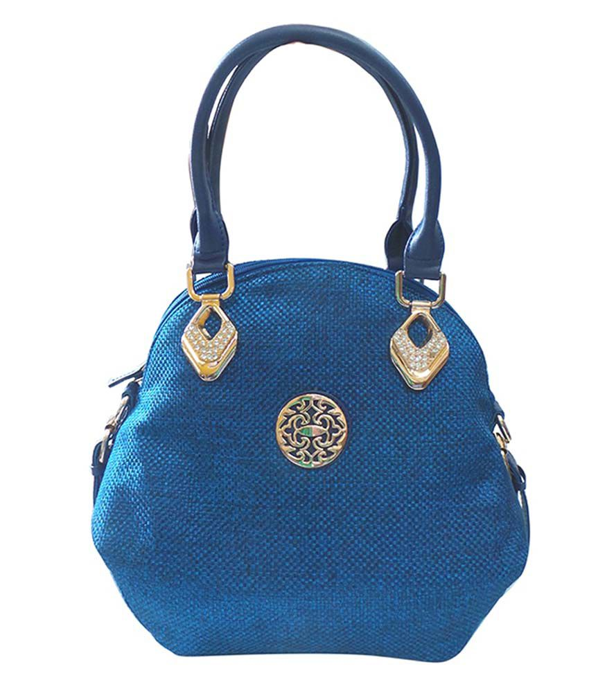 Bhamini Blue Jute Shoulder Bag