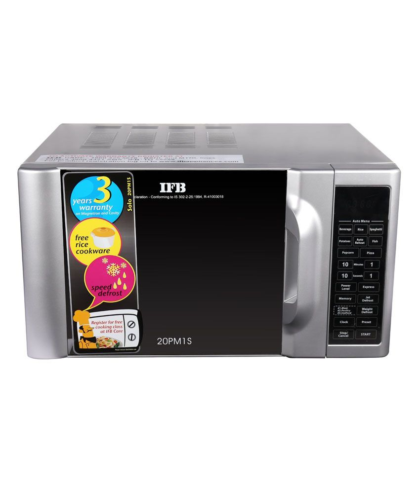 Ifb 20ltr 20pm1s Solo Microwave Oven Price In India Buy
