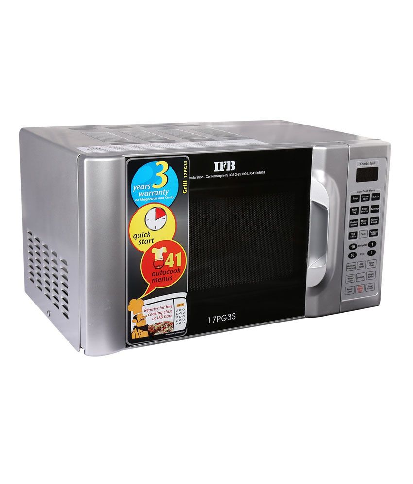 Ifb 17 Ltr 17pg3s Grill Microwave Metallic Silver Price