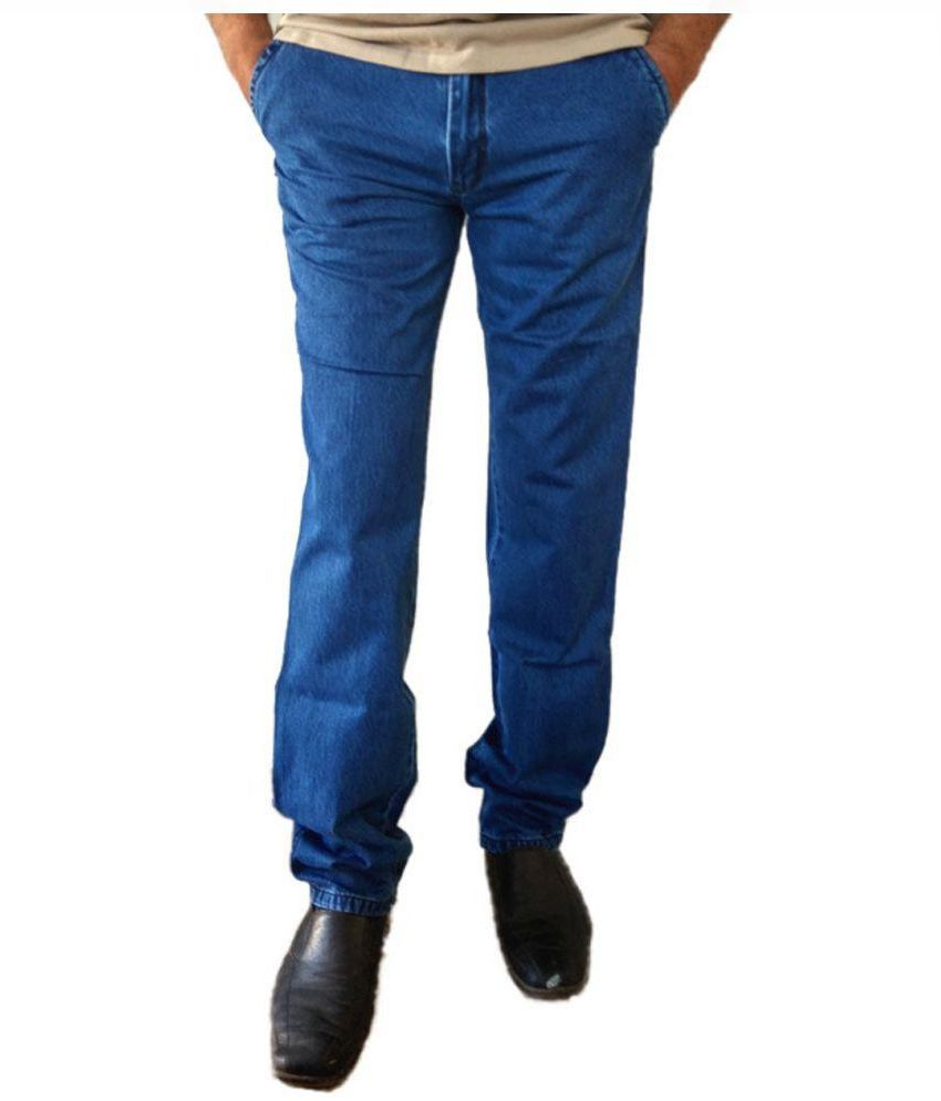 Marx Blue Regular Fit Jeans