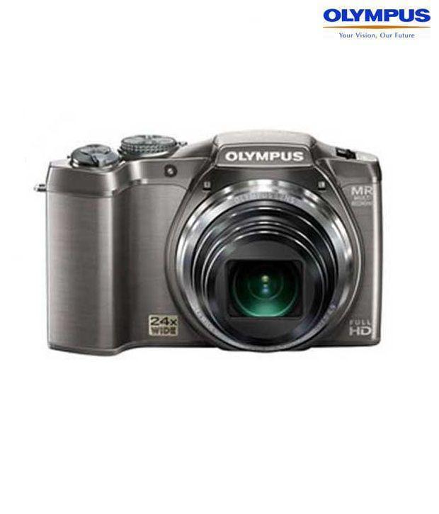 Olympus SZ-31MR 16MP Digital Camera (Silver)