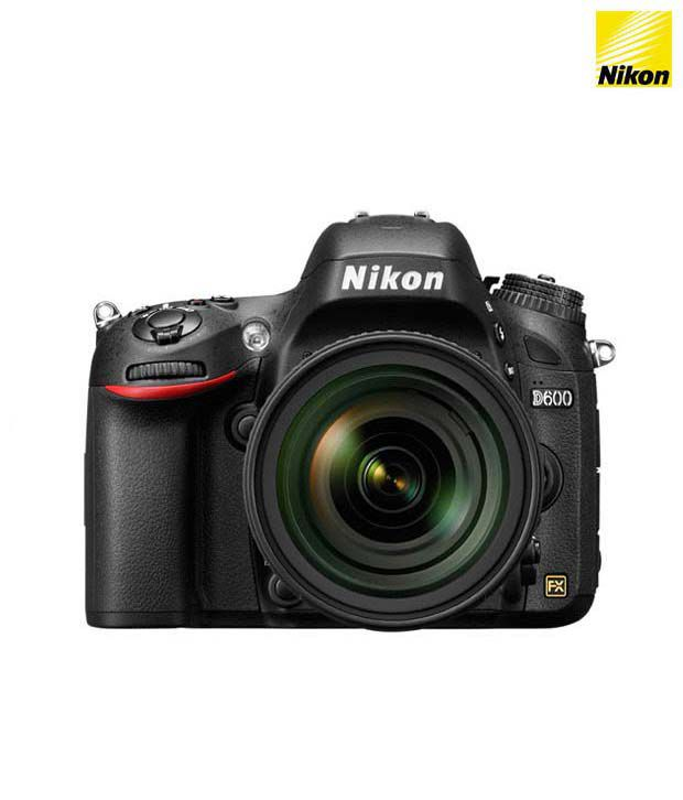 Nikon D600 with 24-85mm Lens (Black)