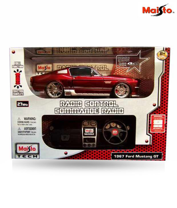 Maisto 1:24 1967 Ford Mustang GT  RC