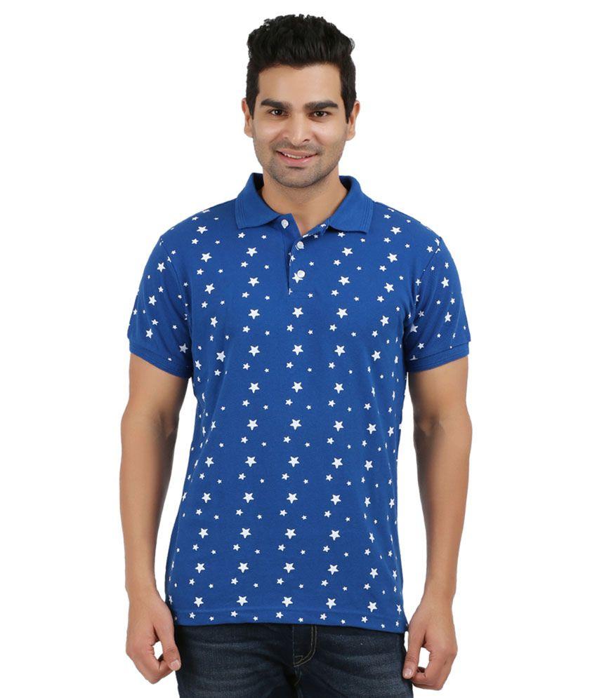 Ag Blue Cotton T-shirt