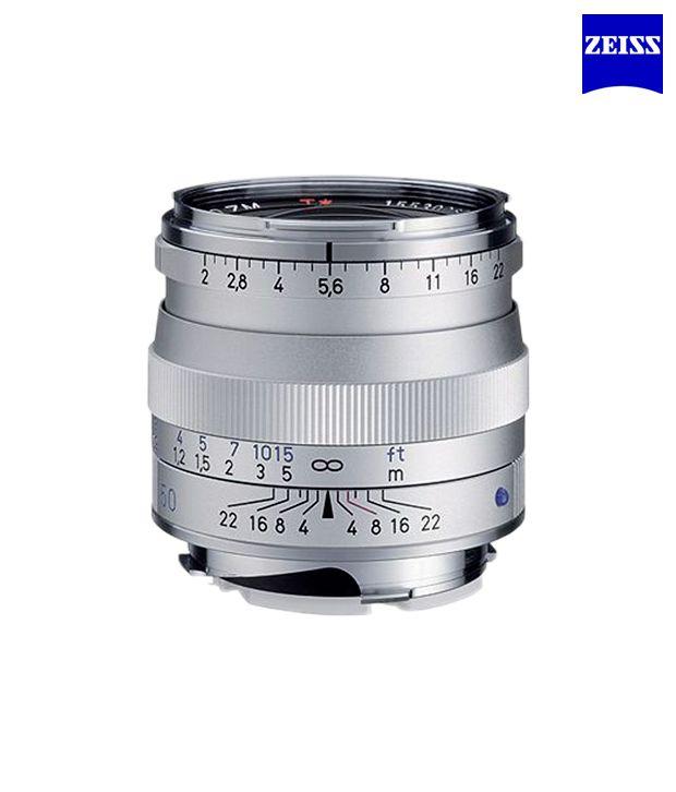 Carl Zeiss Planar T 2/50 ZM  (Silver) ZM Lenses (M-Mount  Rangefinder) (1365-660 )