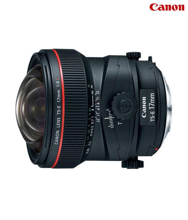 Canon -TS-E 17mm f/4L Lens