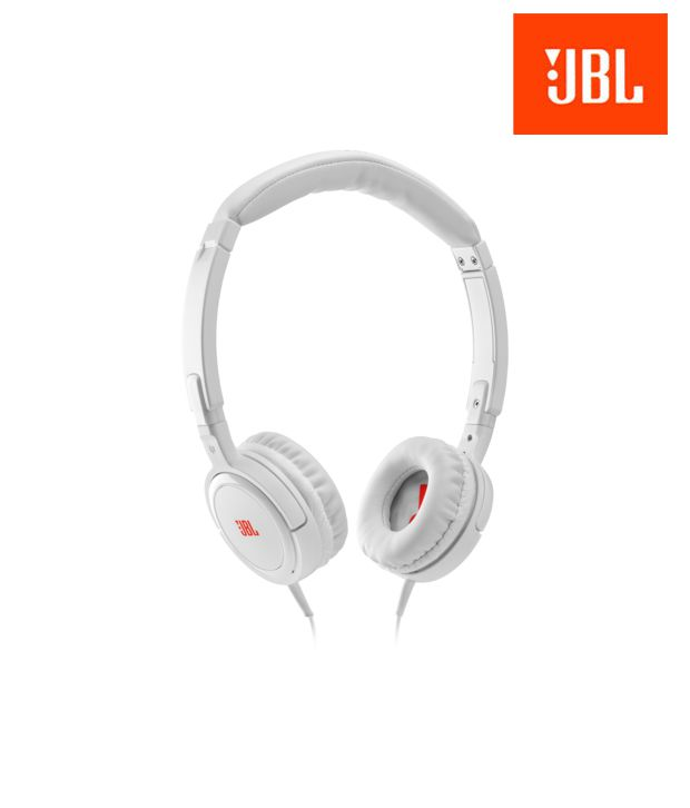 74f8bc6dd88 JBL Tempo On Ear Headphone (White) Without Mic - Buy JBL Tempo On Ear  Headphone (White) Without Mic Online at Best Prices in India on Snapdeal