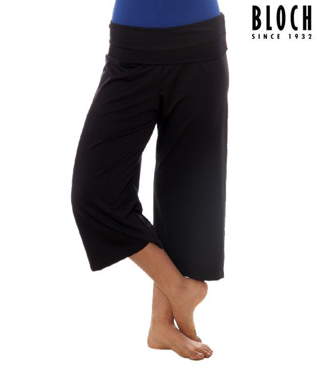 Bloch Black Capri Pants