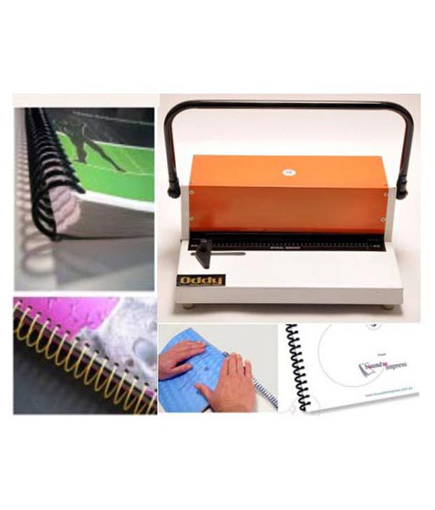 Oddy Spiral Binding Machine 12Inch: Buy Online At Best