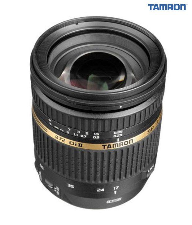 Tamron -B005 SP AF17-50 mm  F/2.8 XR Di II VC LD Aspherical  (IF) w/ hood (Canon)