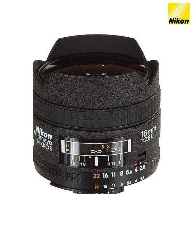 Nikon 16 mm f/2.8D Fisheye AF  Nikkor FX  Lens