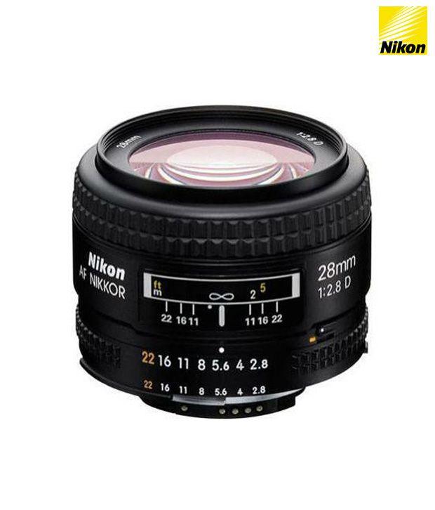 Nikon 28 mm f/2.8 D AF FX  Lens