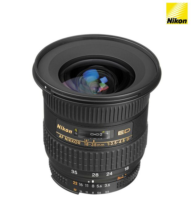 nikon 18 35 mm f 3 5 4 5d if ed af zoom fx 1 9x lens fx format price in india buy nikon 18. Black Bedroom Furniture Sets. Home Design Ideas