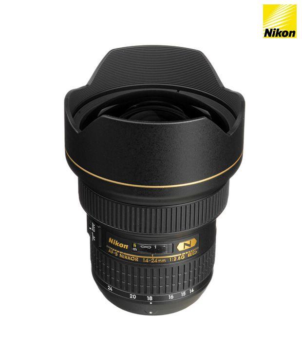 Nikon 14-24 mm f/2.8G ED AF-S  Nikkor Lens (FX Format)