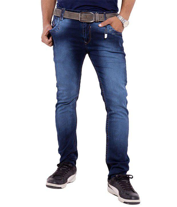 Urban Faith Black Regular Fit Jeans