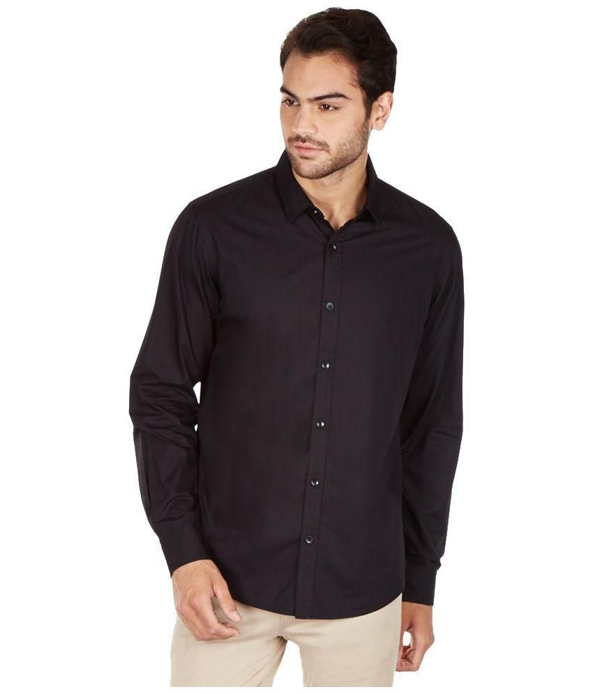 9h black casual shirt buy 9h black casual shirt