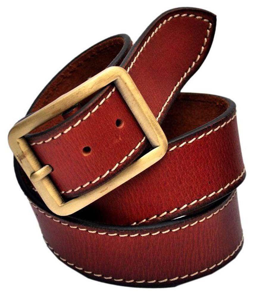 jaydee india designer belt brown casual single belt buy