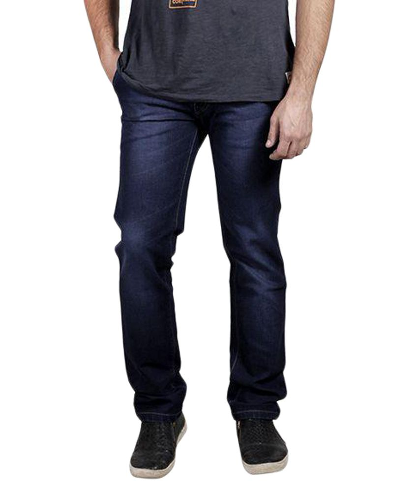 Yorky Blue Regular Fit Jeans
