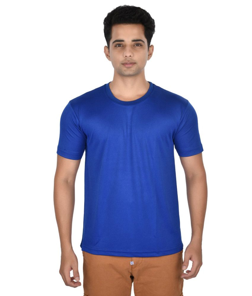 Zorilla Blue Cotton Blend T-shirt