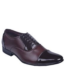 Leeport Brown Formal Shoes