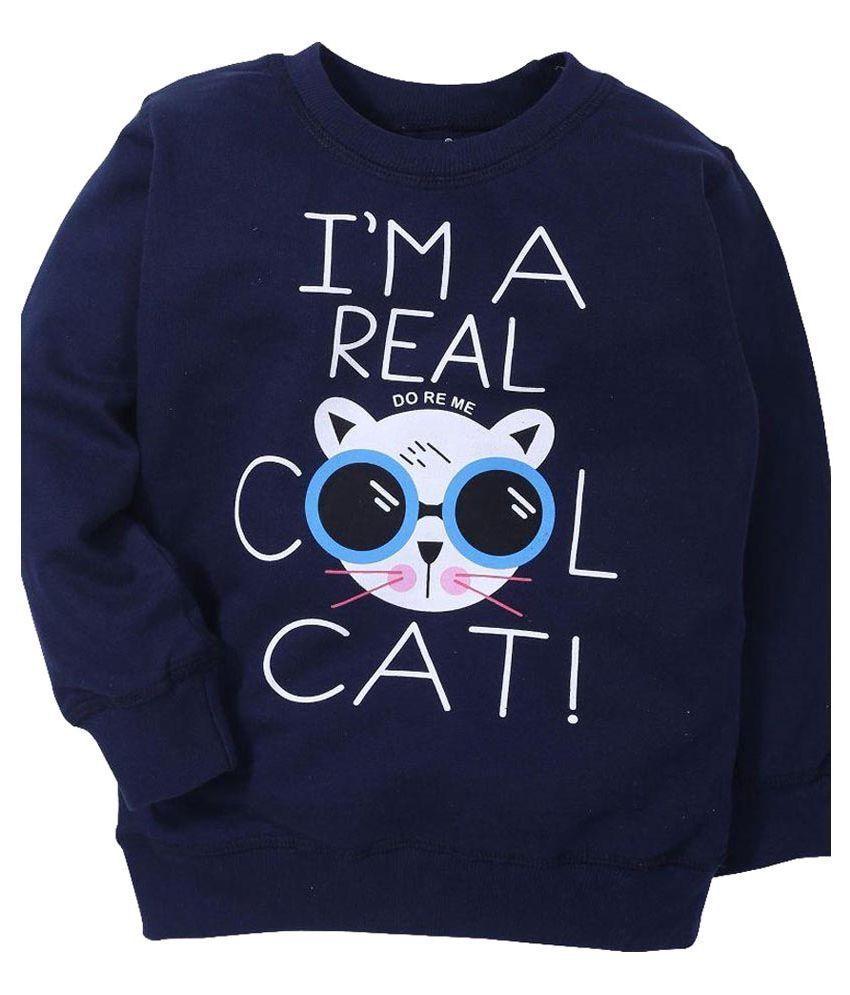 Doreme Navy Sweatshirt