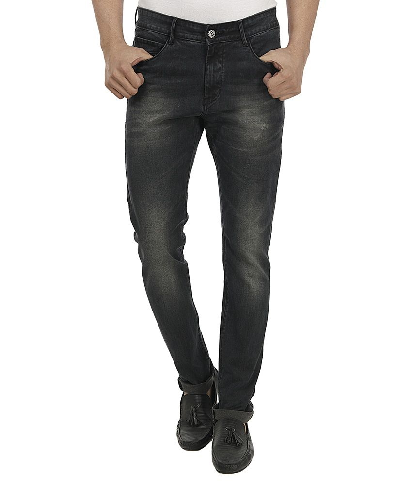 Fever Black Slim Fit Jeans