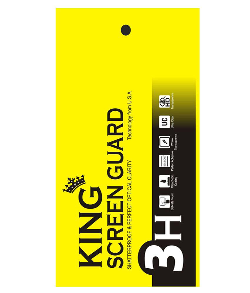 King Anti Glare Screen Guard For Infocus M812 - Pack Of 5