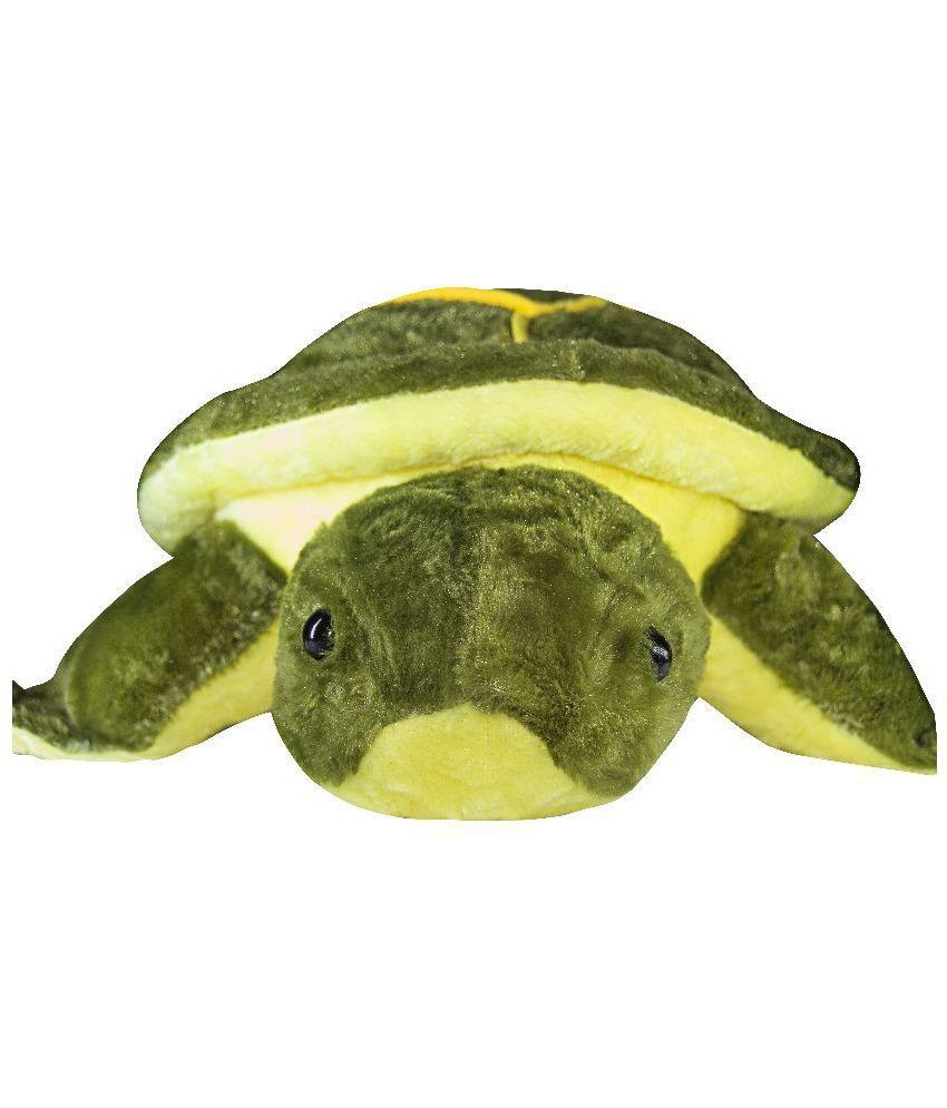 Tiny Tickle Tiny Tickle Green and Yellow Tortoise Soft Toy