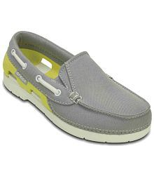 Crocs Relaxed Fit Gray Casual Shoes For Kids