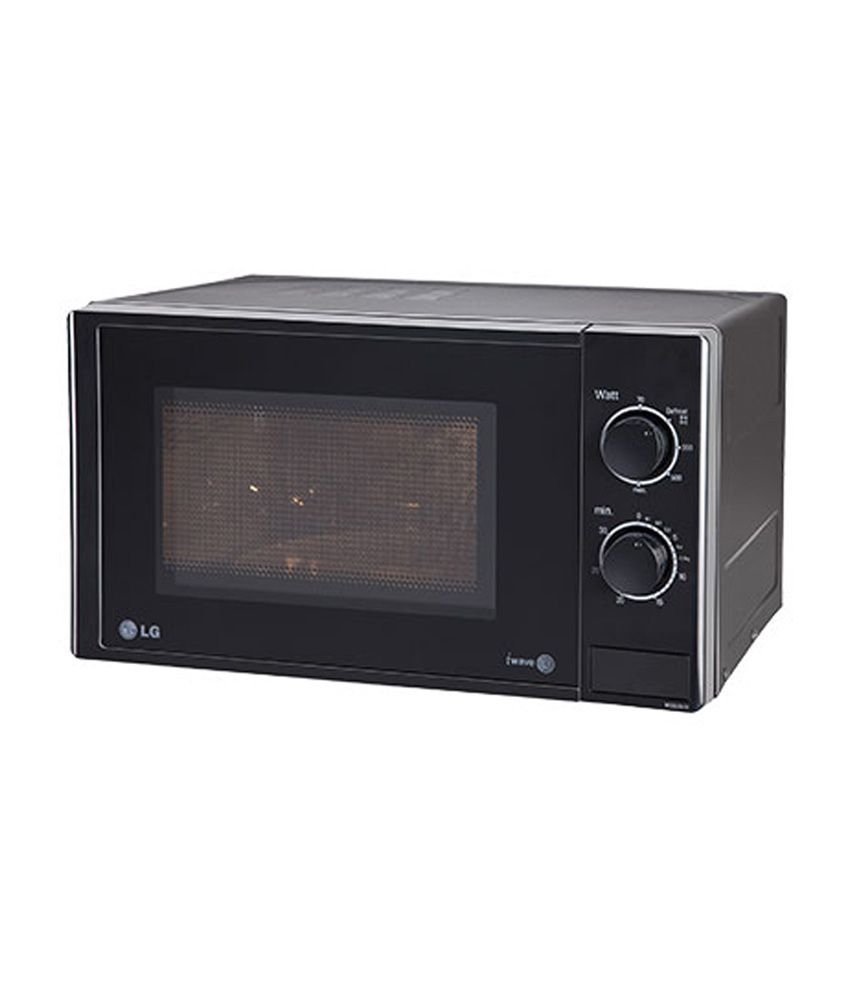 Lg 20 Ltr Ms2025db Solo Microwave Oven Black Price In