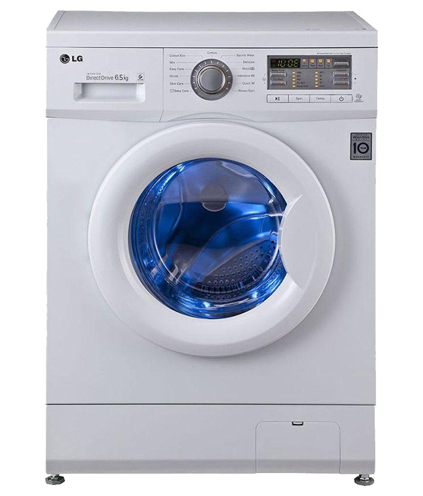 LG 6 FH0B8WDL2 Fully Automatic Front Load Washing Machine white Price in India - Buy LG 6 ...