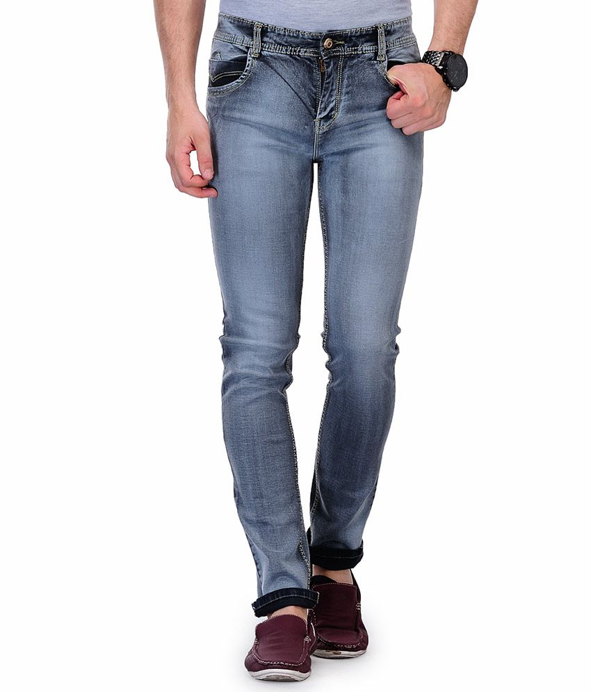 Ausy Blue Slim Fit Jeans