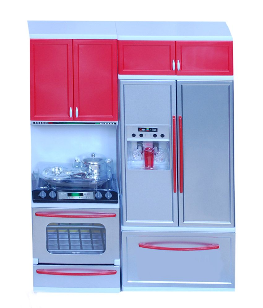Real deal real deal multicolor barbie kitchen set best for Kitchen set deals