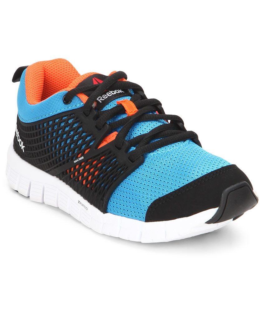 Motivar O cualquiera soplo  Reebok Zquick Dash Black Sport Shoes For Kids Price in India- Buy Reebok  Zquick Dash Black Sport Shoes For Kids Online at Snapdeal
