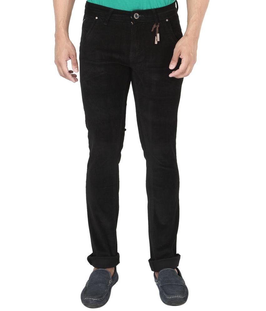 Streetguys Black Slim Fit Jeans