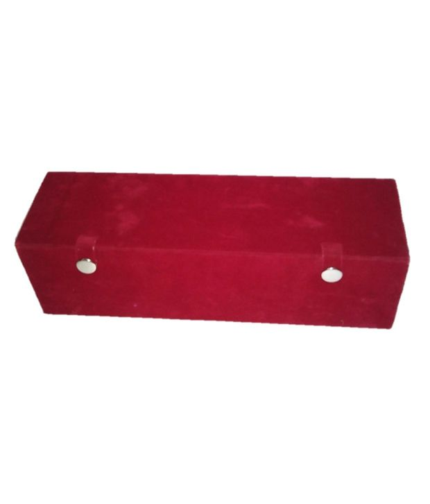 Atorakushon Earring Nose Pin Velvet Folder Jewelry Case Box