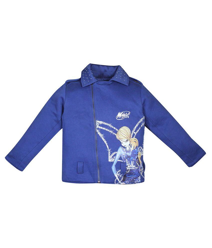 FS Miniklub Winx Navy Hooded Sweatshirt