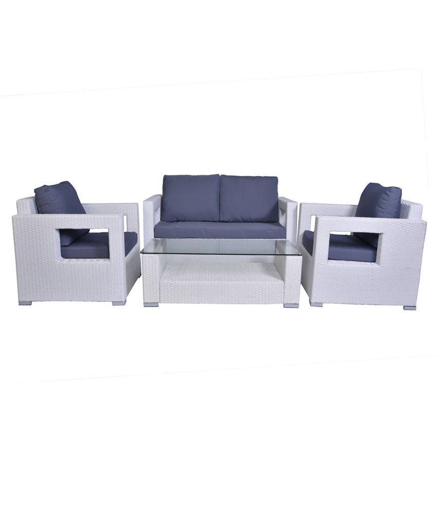 Greenwood outdoor 2 1 1 sofa set with centre table buy for Affordable furniture greenwood in