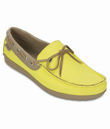 Crocs Yellow Casual Shoes Standard Fit