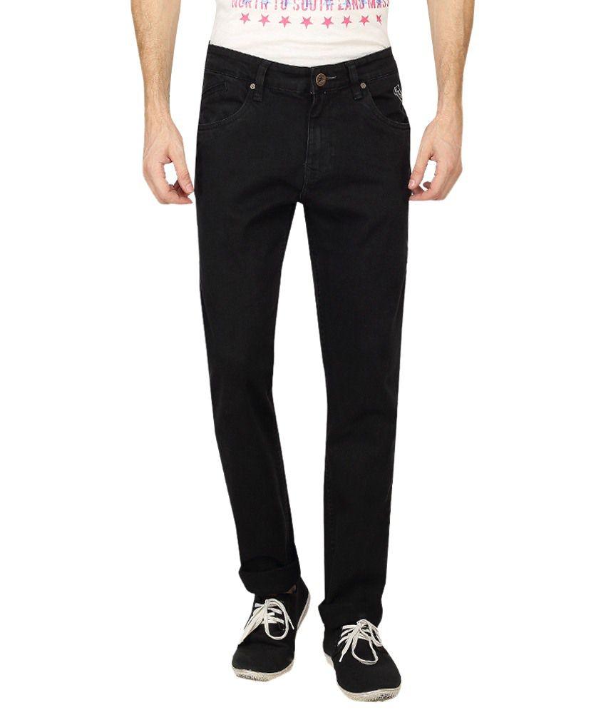Pepe Jeans Black Basic Cotton Jeans