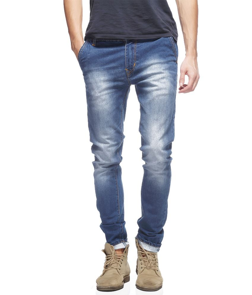 French & Fitch By Fasnoya Blue Skinny Fit Jeans