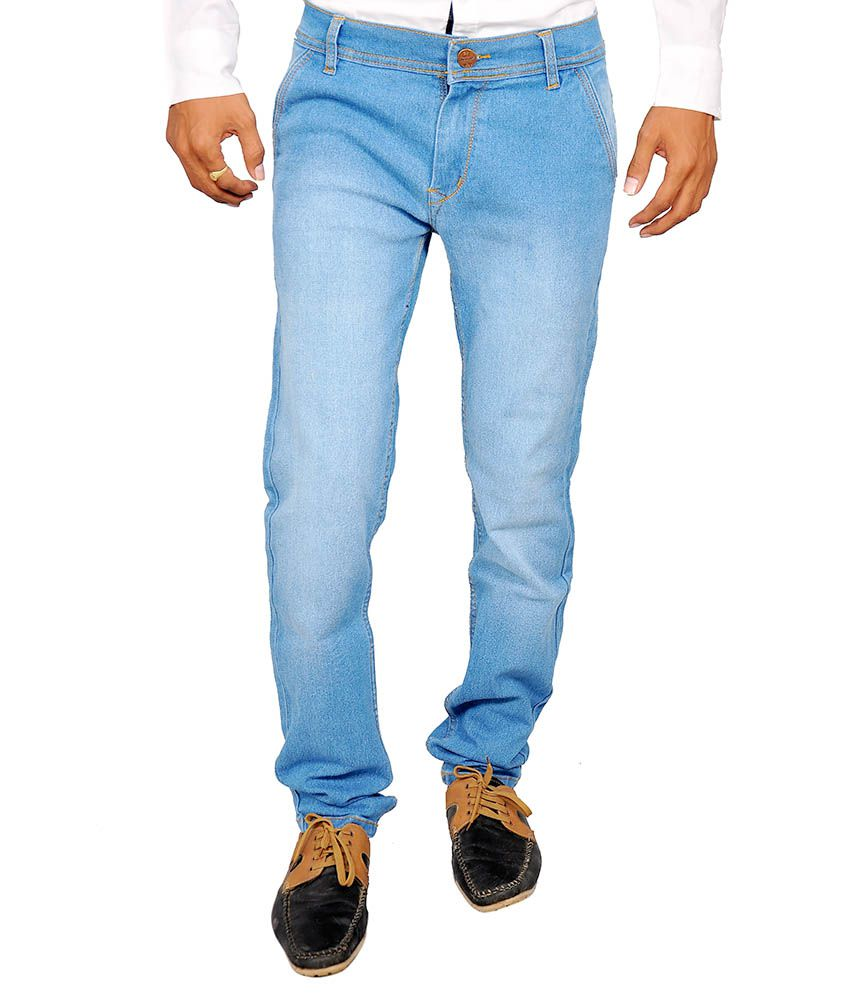 Halfdeal Blue Slim Fit Jeans